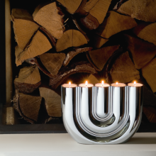 Philippi DOUBLE U Tealight Şamdan
