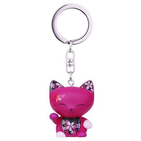 Money The Lucky Cat Mani The Lucky Cat 044 Anahtarlık