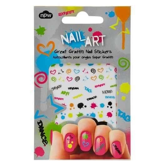NAIL STICKER Great Graffiti Tırnak Çıkartması Seti