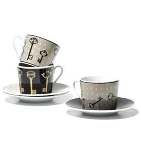 DoDo - ANAHTAR 6 Lı Çay Fincanı Seti