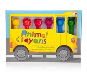 NPW - ANIMAL CRAYONS Pastel Boya Kalemleri 6 adet