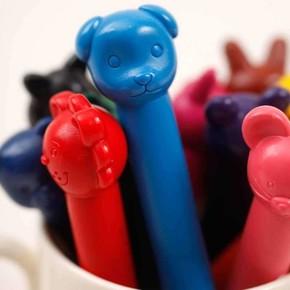 ANIMAL CRAYONS Pastel Boya Kalemleri 6 adet - Thumbnail