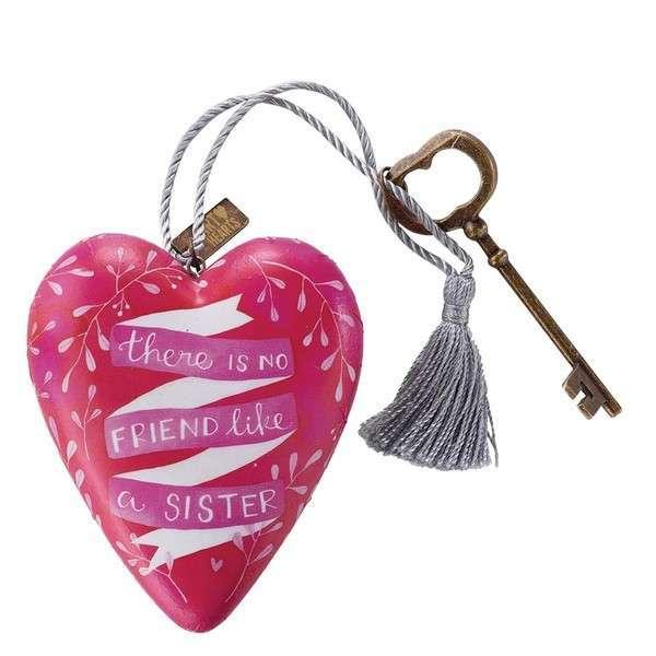 Art Heart Sisters Figür