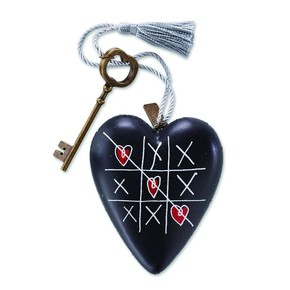 Enesco - Art Heart Tic Tac Toe Figür