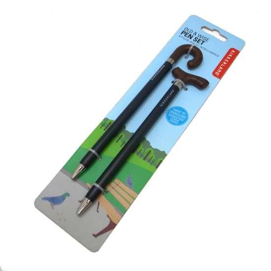Kikkerland BASTON Tükenmez Kalemler 2li Set