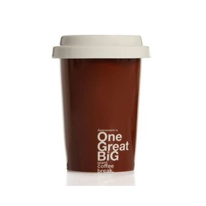 BIGGMUG - Biggmug Take Away Mug Kahverengi