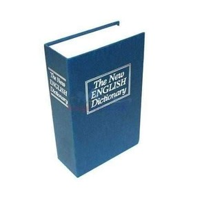 BOOK SAFE Kitap Görünümlü Gizli Kasa Kumbara - Thumbnail