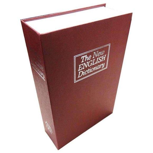 BOOK SAFE Kitap Görünümlü Gizli Kasa
