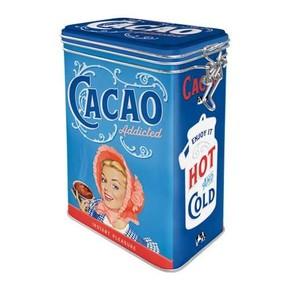 Nostalgic Art - Cacao Kilitlenebilir Kapaklı Metal Kutu