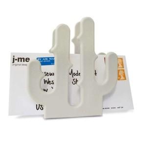 J-Me Design - CACTUS Mektup Not Tutacağı Beyaz