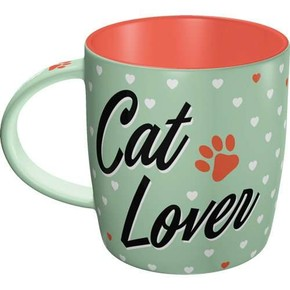 Nostalgic Art - Nostalgic Art CAT LOVER Kupa Bardak
