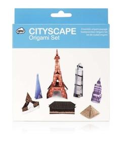 NPW - CITYSCAPE ORIGAMI Seti - Ünlü Yapılar