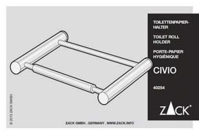 Zack CIVIO Tuvalet Kağıtlık - Thumbnail