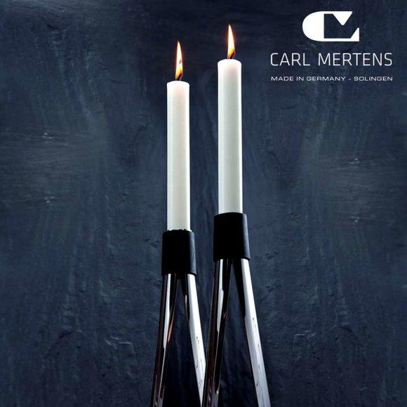 Carl Mertens DELFT Şamdan 2 adet