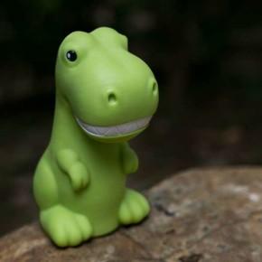 DHINK Dino Yeşil Gece Lambası - Thumbnail