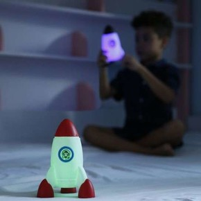 DHINK Roket Gece Lambası - Thumbnail