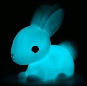 DHINK Tavşan Gece Lambası - Thumbnail