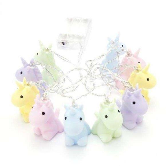 DHINK Unicorn String Gece Lambası