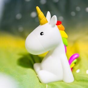 DHINK - DHINK Yeni Sparkle Unicorn Gece Lambası