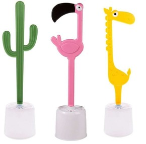 DHINK Zürafa Tuvalet Fırçası - Thumbnail