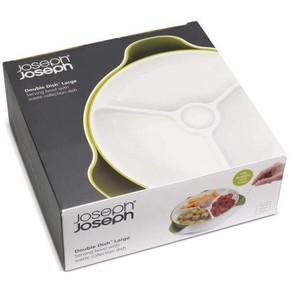 Joseph Joseph DOUBLE DISH Çift Çanaklı Çerezlik Büyük - Thumbnail
