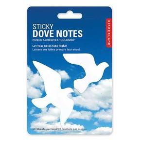 Kikkerland DOVE Güvercin Not Kağıtları - Thumbnail