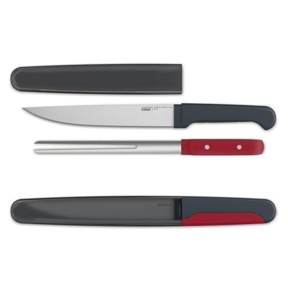 Joseph Joseph Duo Carve Et Oyma Bıçağı ve Çatalı Seti