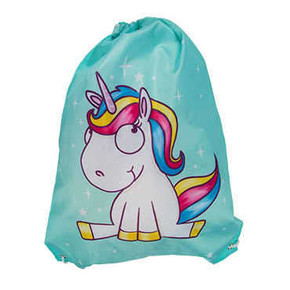 FASHION BAG COMIC UNICORN İpli Sırt Çantası - Thumbnail