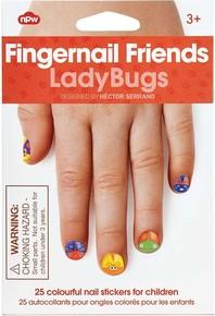 NPW - FINGERNAIL FRIENDS LADYBUG Uğurböceği Tırnak Süsü Çıkartmalar