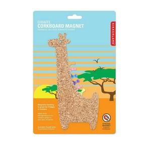 Kikkerland - Kikkerland GIRAFFE Manyetik Mantar Pano Zürafa