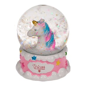 Out of The Blue - GLITTER GLOBE UNICORN Simli Su Küresi