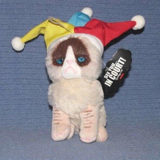 Gund Grumpy Cat Jester Peluş Oyuncak