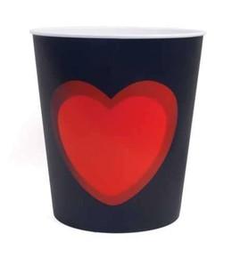 Kikkerland - HEART Kalp 3 Boyut Resimli Çöp Kovası