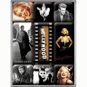 Nostalgic Art - Nostalgic Art Hollywood Magnet Set 9 Parça