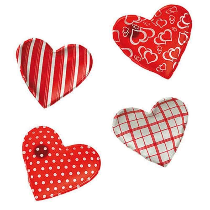 HOT HEART Desenli Kalp Çıtçıtlı El Isıtıcısı