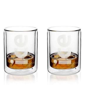 Viva Scandinavia - Viva Scandinavia Çift Cidarlı Whisky Viski Bardağı (baskısız )