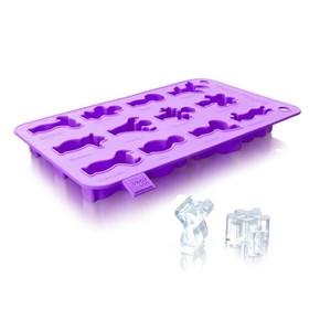 Vacu Vin Buz Kalıbı Mor - Thumbnail