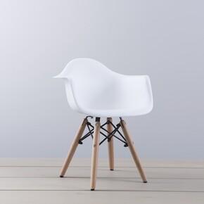 Iconic Kids - Iconic Kids Kolçaklı Çocuk Sandalyesi Beyaz