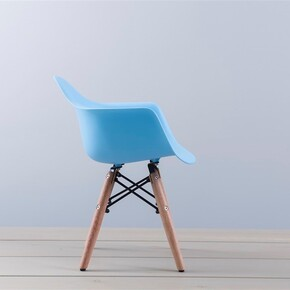 Iconic Kids - Iconic Kids Kolçaklı Çocuk Sandalyesi Mavi