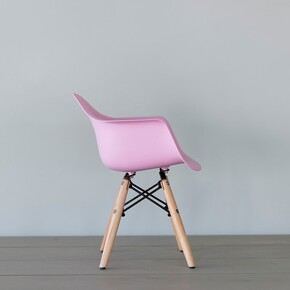 Iconic Kids - Iconic Kids Kolçaklı Çocuk Sandalyesi Pembe