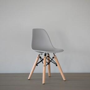 Iconic Kids - Iconic Kids Kolçaksız Çocuk Sandalyesi Gri