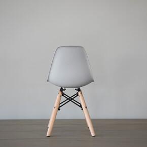 Iconic Kids Kolçaksız Çocuk Sandalyesi Gri - Thumbnail