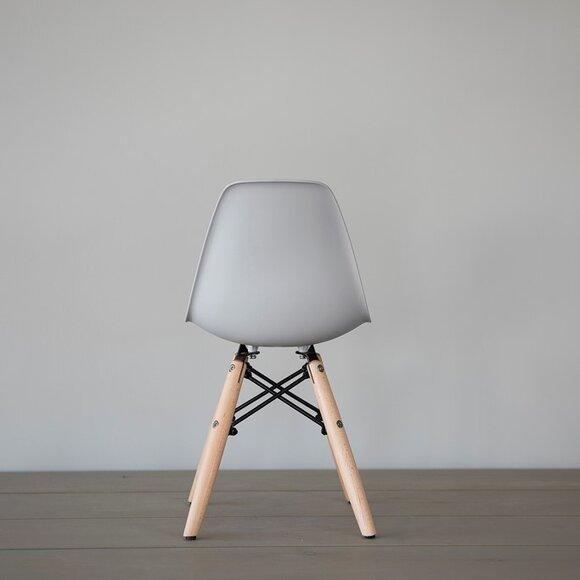 Iconic Kids Kolçaksız Çocuk Sandalyesi Gri