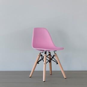 Iconic Kids - Iconic Kids Kolçaksız Çocuk Sandalyesi Pembe
