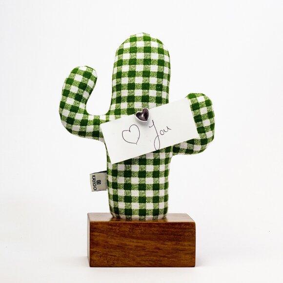 Kayıgo Cactus Lavanta Dolgulu Notluk Yeşil