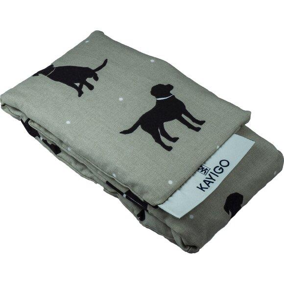 Kayigo Warmy Hugging Pillow - Black Dog