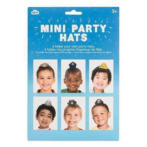 KIDS MINI PARTY HATS Mini Parti Şapkaları Erkek Çocuk