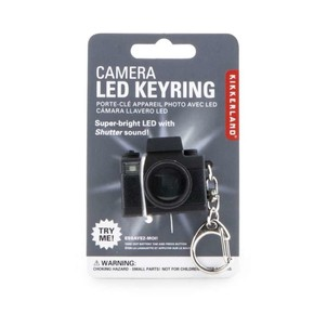 Kikkerland - Kikkerland CAMERA LED Işıklı ve Sesli Anahtarlık