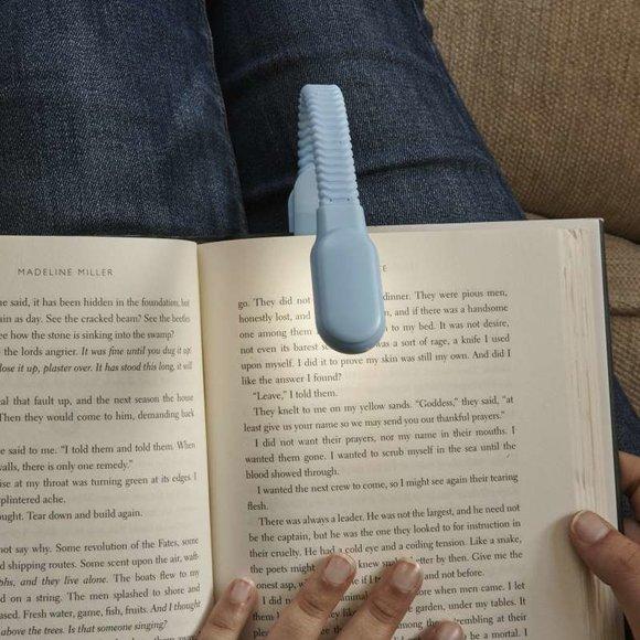 Kikkerland CLIP BOOK LIGHT Şarj Edilebilir Kitap Okuma Işığı