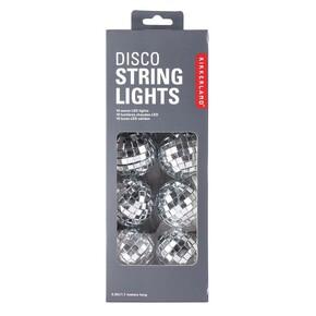 Kikkerland - Kikkerland DISCO STRING LIGHTS Aynalı LED Disko Topu Işıklar